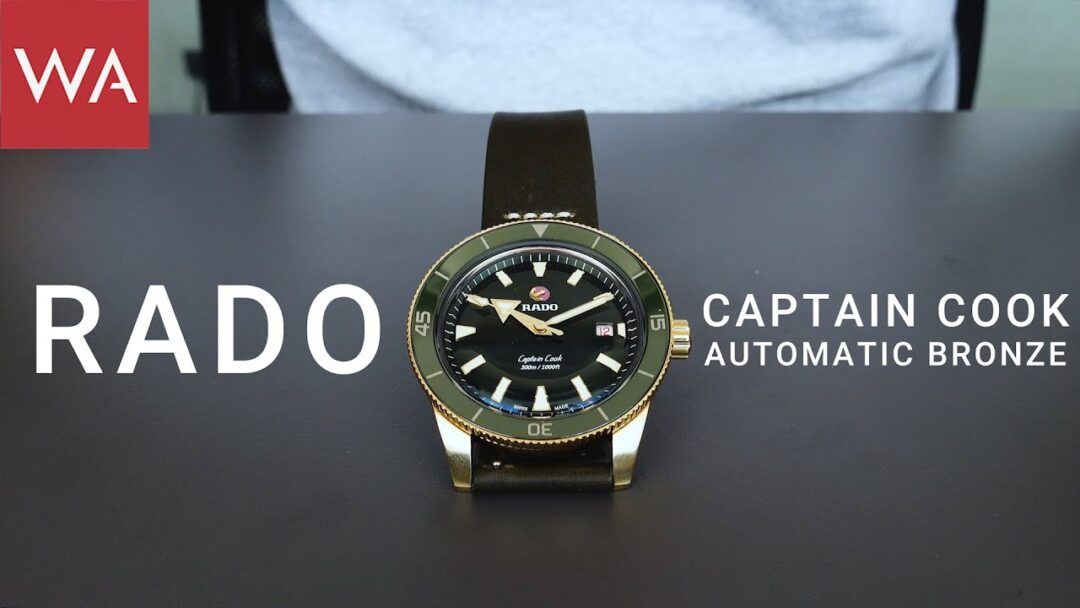 Hands-on the RADO Captain Cook Automatic Bronze