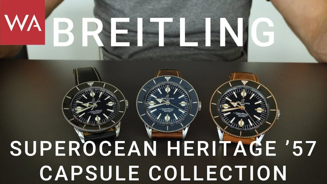 Exclusive hands-on: BREITLING Superocean Heritage '57 Capsule Collection