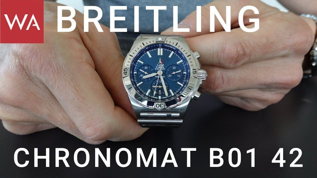 Exclusive hands-on: BREITLING Chronomat B01 42 new Collection 2020