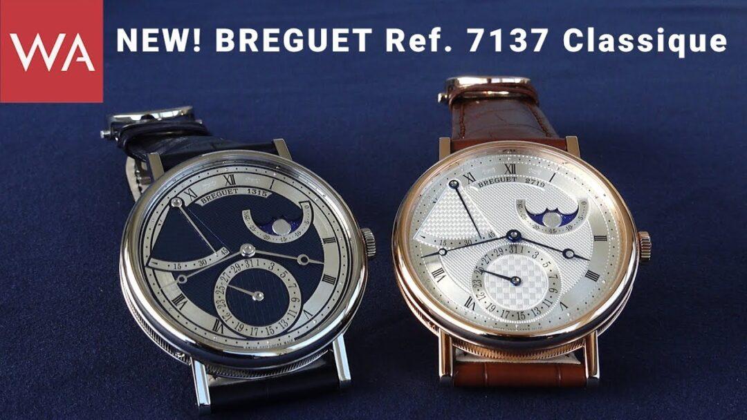 Hands-on: The new BREGUET Ref. 7137 Classique