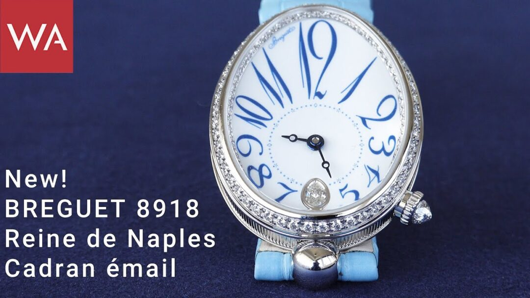 Hands-on: BREGUET Ref. 8918 Reine de Naples Cadran émail (grand feu enamel)