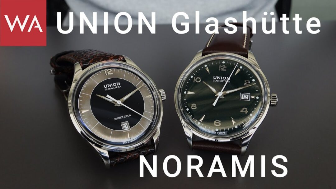 Great Value for Money! Hands-On the UNION GLASHÜTTE Noramis Date + Noramis ADAC Deutschland Classic