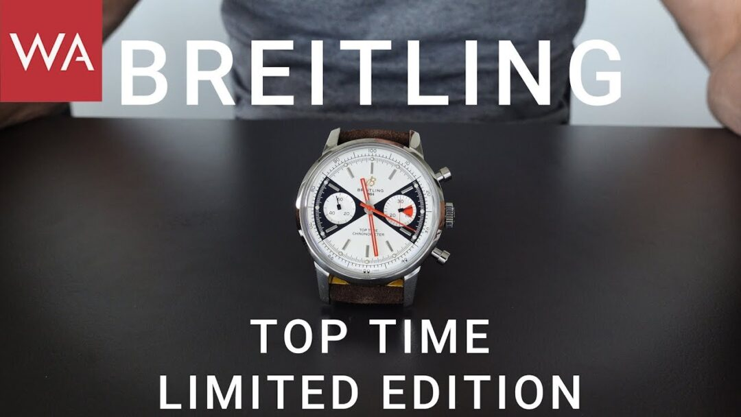 Exclusive hands-on: BREITLING Top Time