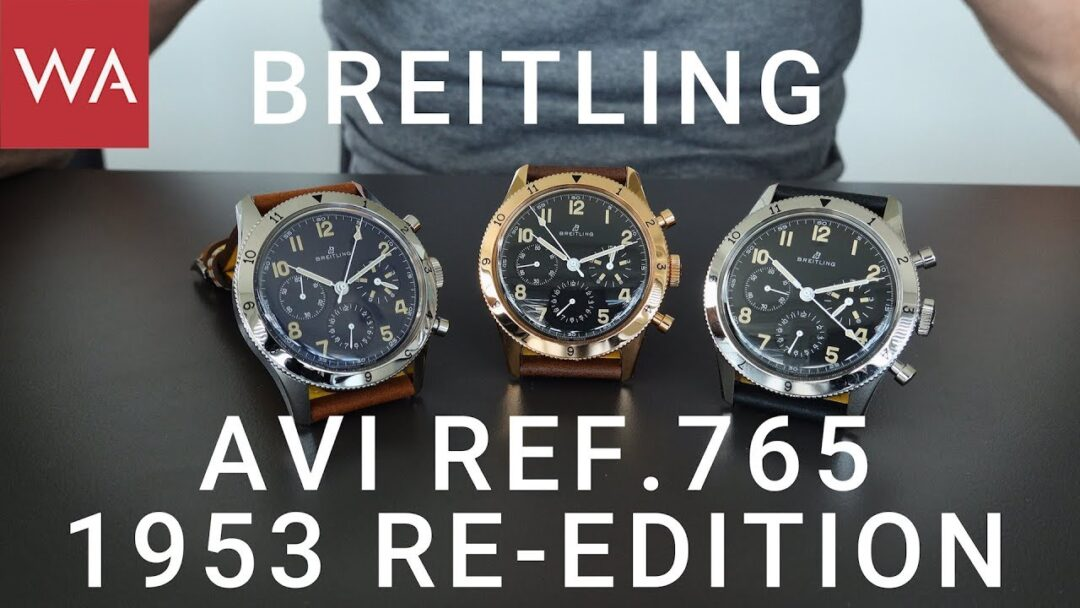 Exclusive hands-on: BREITLING AVI Ref. 765 1953 Re-Edition