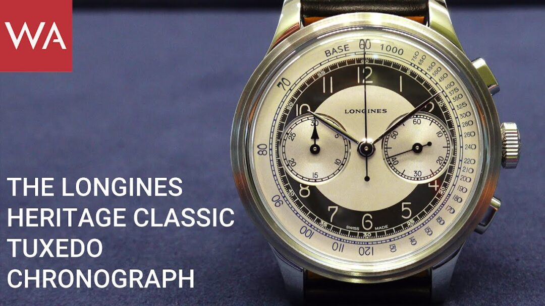 Hands-on: LONGINES Heritage Classic - Tuxedo - Chronograph. Let's dance & celebrate.