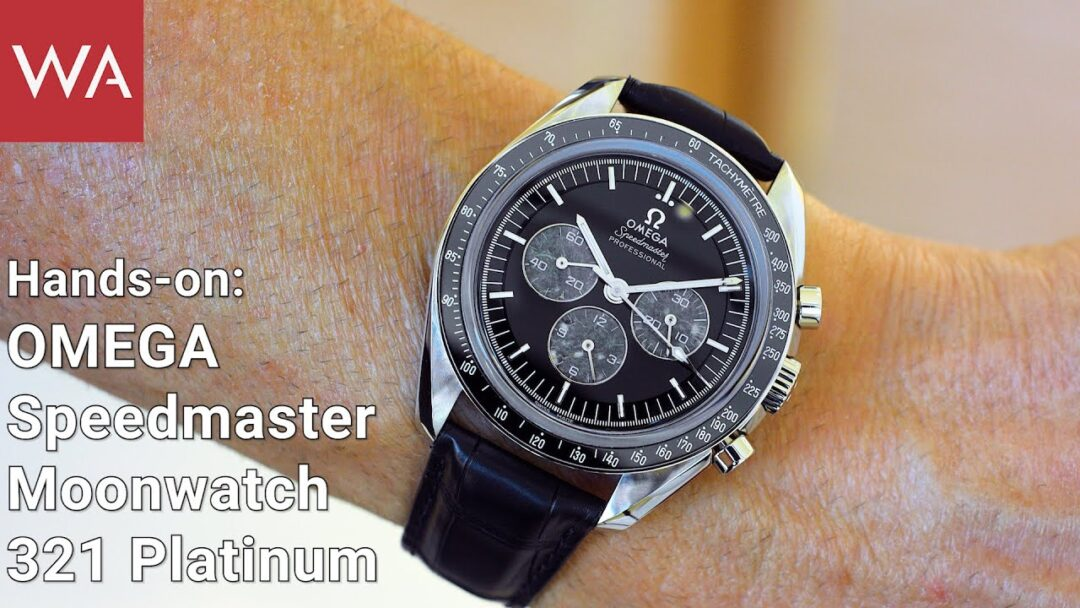 Profound Insight + Hands-On: OMEGA SPEEDMASTER Moonwatch Platinum on Leather Strap