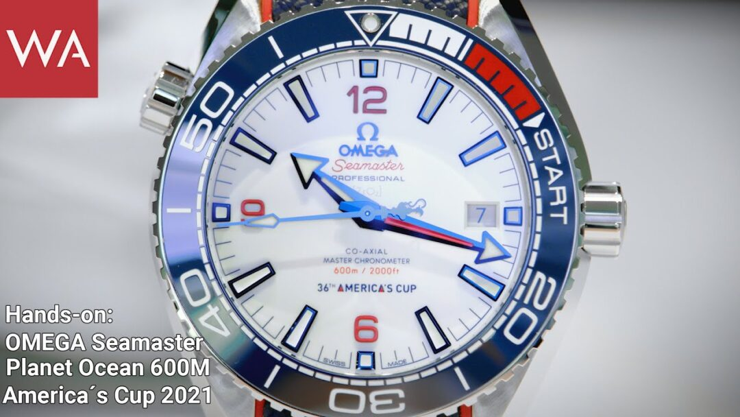 Hands-on: OMEGA SEAMASTER PLANET OCEAN 36th America's Cup Limited Edition.