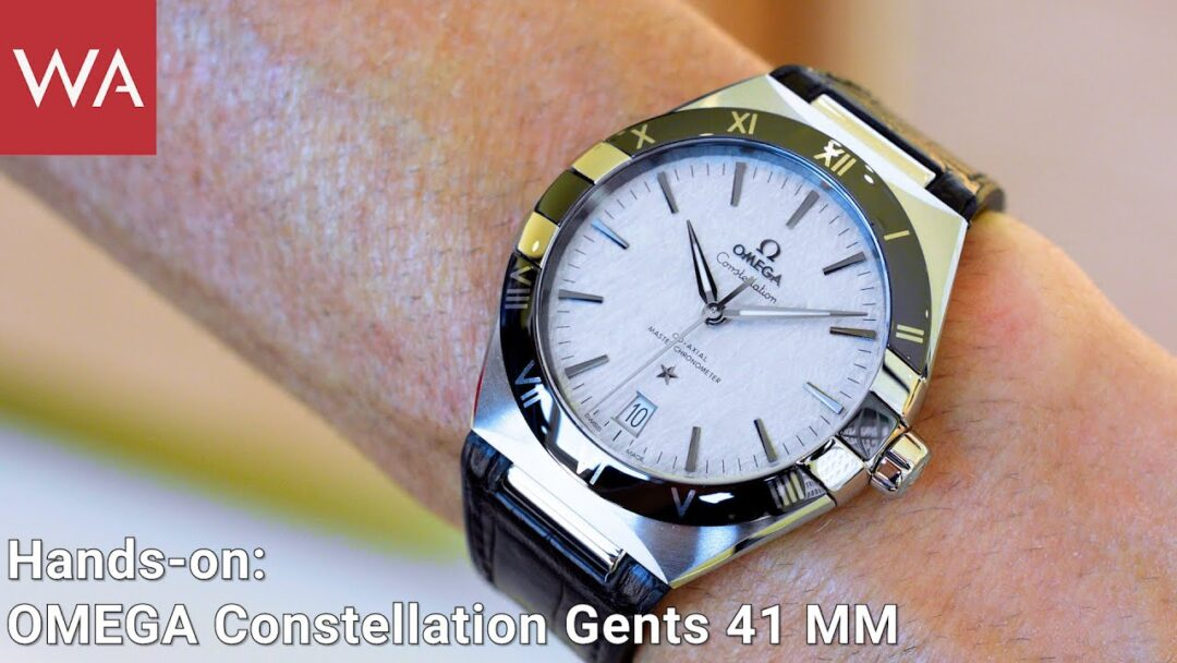 Hands-on: The new OMEGA Constellation 41 mm Gents' Collection