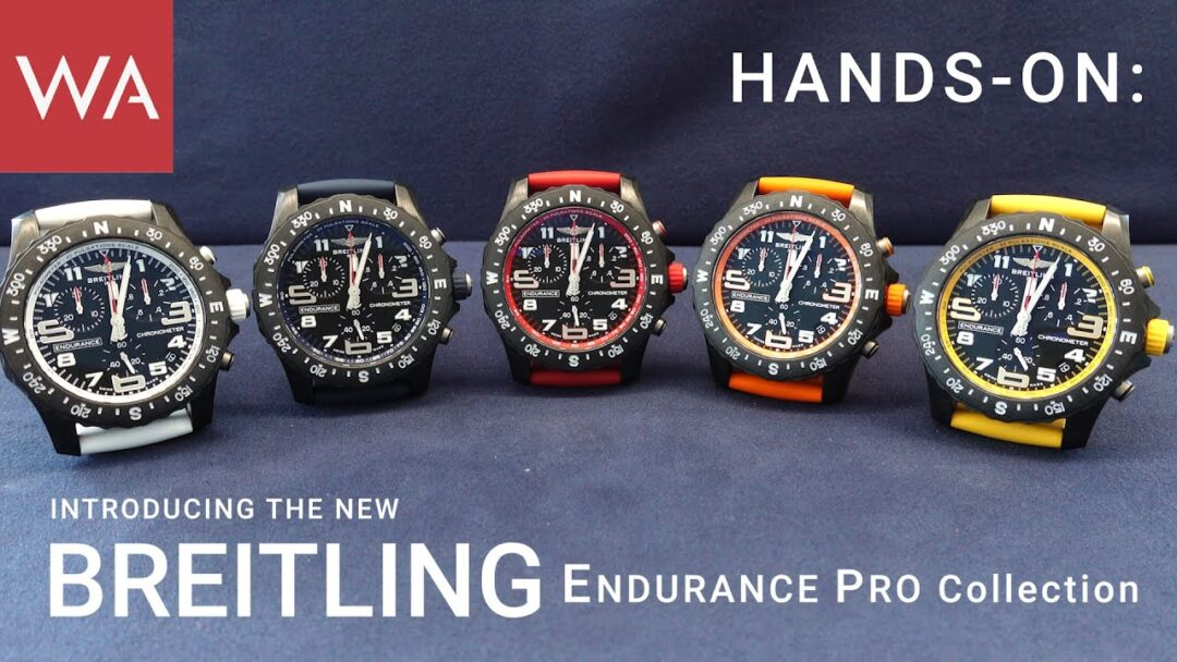 World Premiere! BREITLING Endurance Pro. Vibrant & powerful!