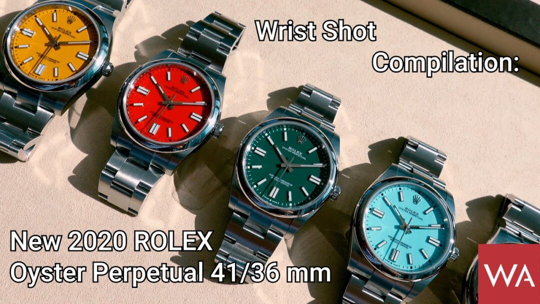 Wrist Shot Compilation: New 2020 ROLEX Oyster Perpetual 41 + Oyster Perpetual 36