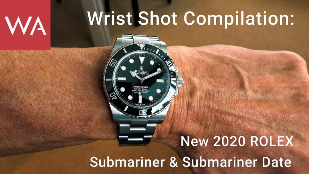 Wrist Shot Compilation: New 2020 ROLEX Submariner & Submariner Date.