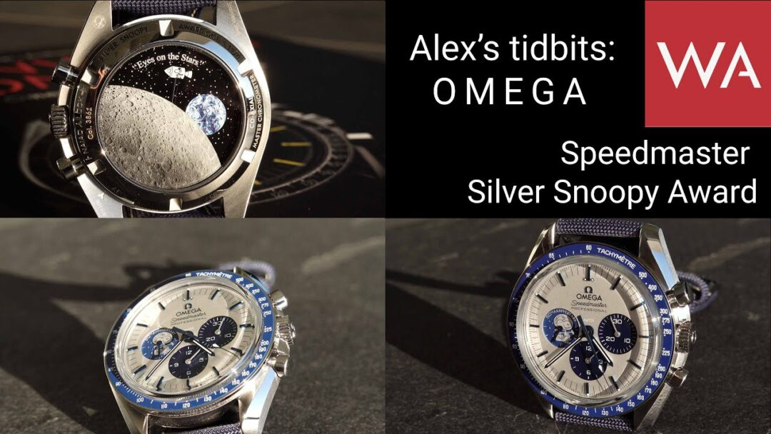Alex's tidbits: OMEGA Speedmaster Silver Snoopy Award 50th anniversary. Let the fun begin!
