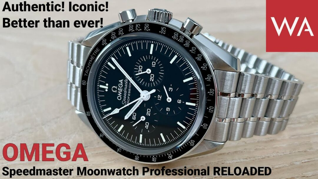 Better than ever! New OMEGA Speedmaster Professional Moonwatch powered by Calibre 3861