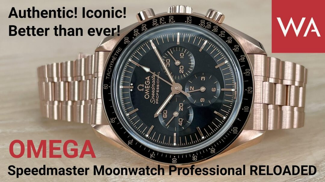 Iconic! New OMEGA Speedmaster Professional Moonwatch Sedna Gold powered by Calibre 3861