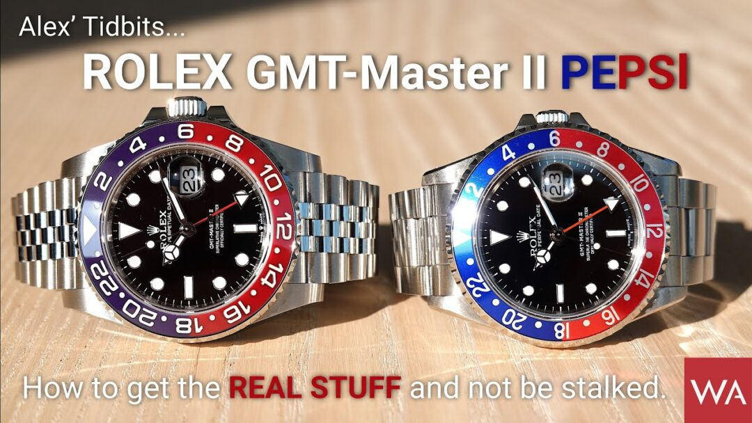 ROLEX GMT-Master II Pepsi. Alex' Tidbits... How to get the REAL STUFF and not be stalked.