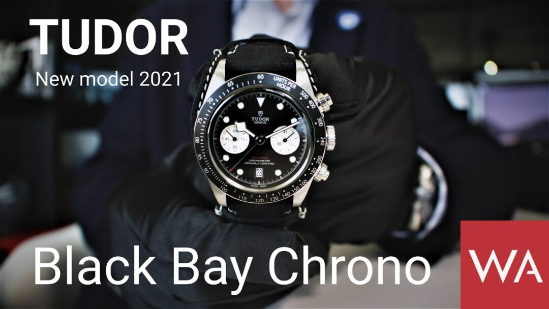 TUDOR Black Bay Chrono. New Model 2021.