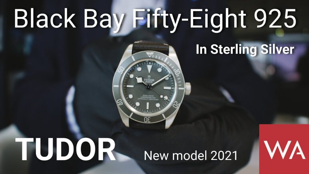 TUDOR Black Bay Fifty-Eight 925. Sterling Silver. New Model 2021
