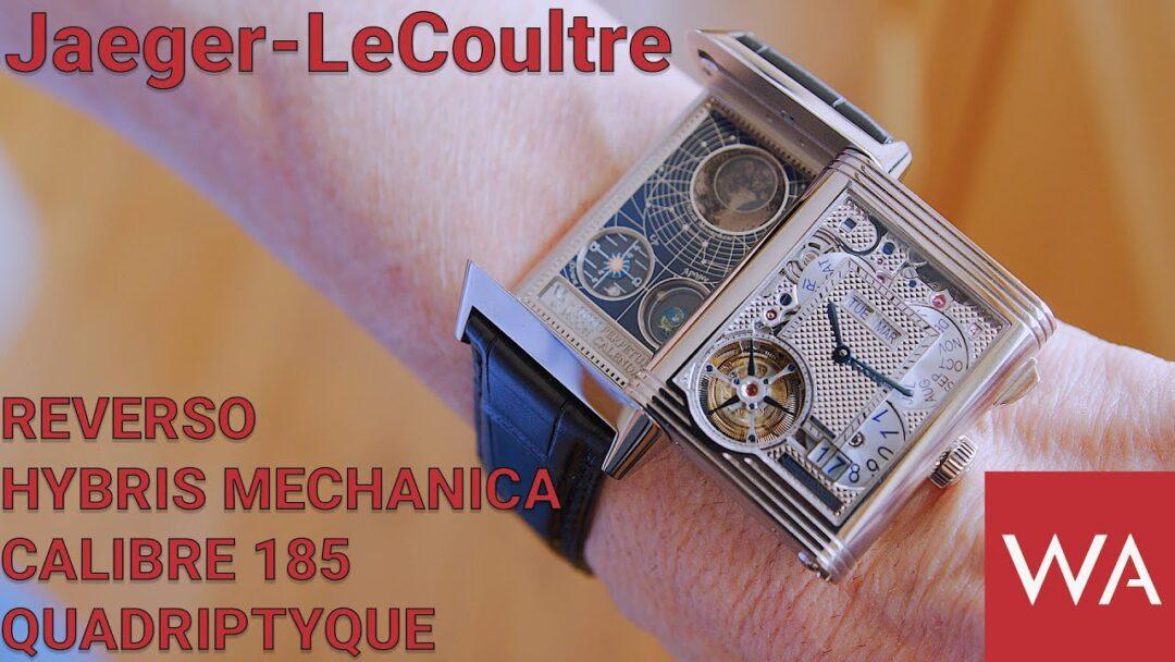 JAEGER-LECOULTRE Reverso Hybris Mechanica Calibre 185 Quadriptyque. Exclusive & Breathtaking!