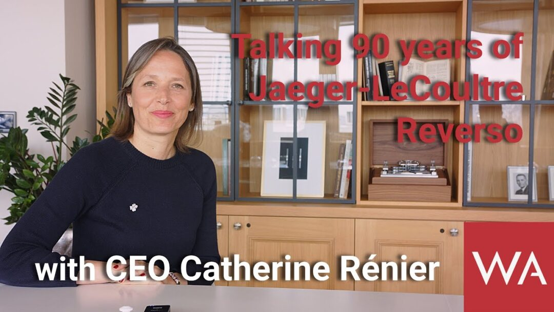Jaeger-LeCoultre Reverso. CEO Catherine Rénier talks about its 90th Anniversary.