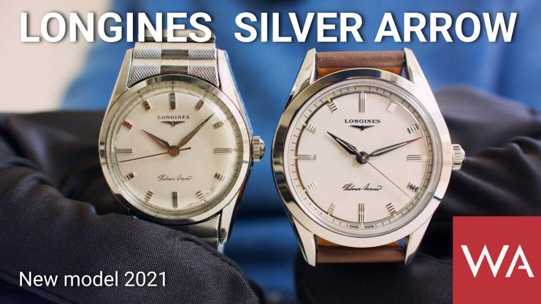 """LONGINES Silver Arrow. The """"Silver Arrow"""" adventure began in 1955..."""