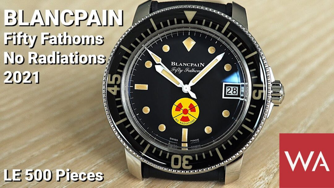 BLANCPAIN Fifty Fathoms No Radiations 2021. A Limited Edition of 500 pieces.