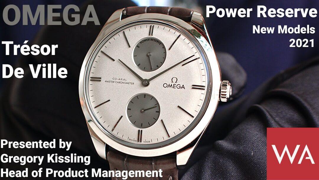 OMEGA De Ville Trésor Power Reserve. Presented by Gregory Kissling, Head of Product Management.