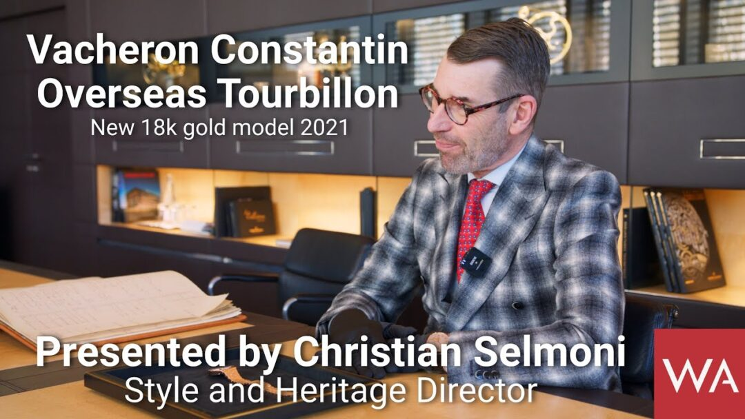 VACHERON CONSTANTIN Overseas Tourbillon. NEW! in 18 carat 5N pink gold.
