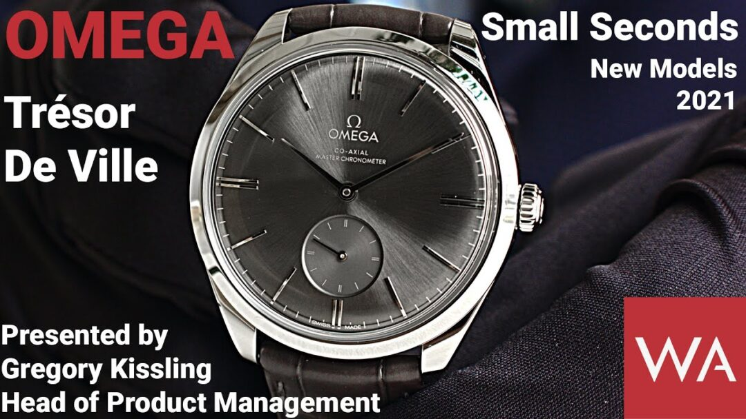 OMEGA De Ville Trésor Small Seconds. Presented by Gregory Kissling, Head of Product Management.